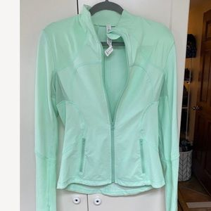 Lululemon mint green jacket